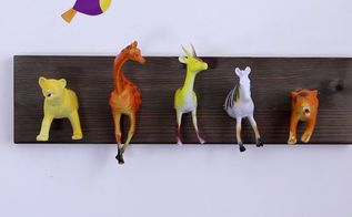 animal hooks, crafts, how to, repurposing upcycling, shelving ideas