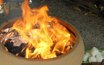 Portable Fire Pit in Just 5 Minutes!