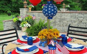 4th of July Tablescape & Herb Brush Grilling