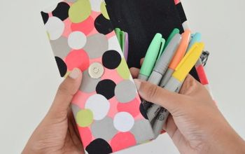 DIY Pencil Case From Cereal Box