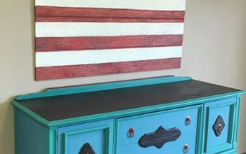 wood icing s july 4th wall art, chalk paint, crafts, diy, painting, patriotic decor ideas, seasonal holiday decor