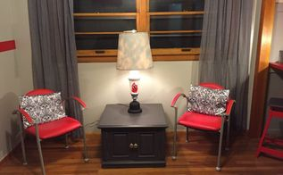 100 room makeover 30dayflip, entertainment rec rooms, home improvement, painting, Seating area