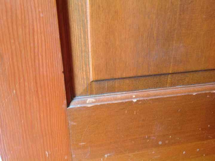 q easy way to spiff up good wood doors , doors, home maintenance repairs, minor home repair, Door damage