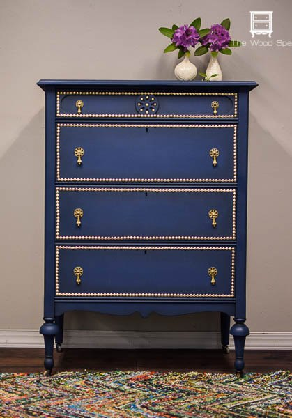 A dresser makeover with paint and nail head trim hometalk a dresser makeover with paint and nail head trim bedroom ideas how to solutioingenieria