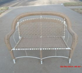 New Life To Inexpensive Resin Wicker Chairs, Outdoor Furniture, Painted  Furniture