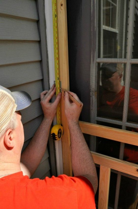 s 11 updates to try yourself before calling a home repair man, home decor, home maintenance repairs, Replace your warped screen door
