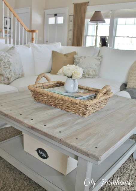this is the look  we are looking to create on our pine coffee table.