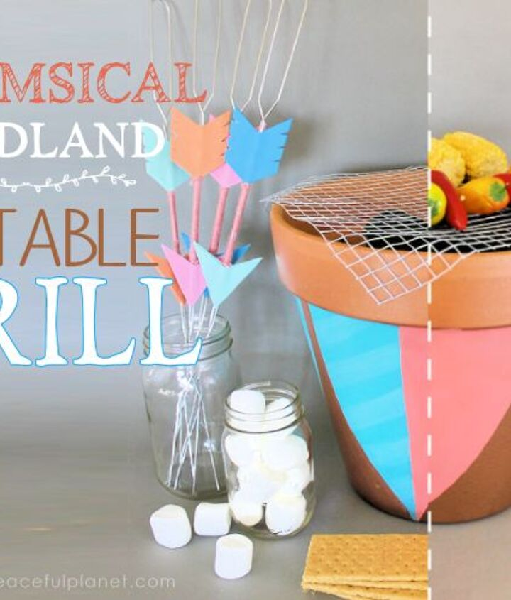 sensational inexpensive portable grill, crafts, how to, outdoor furniture, outdoor living