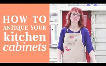 How to Give Your Kitchen Cabinets an Antique Look