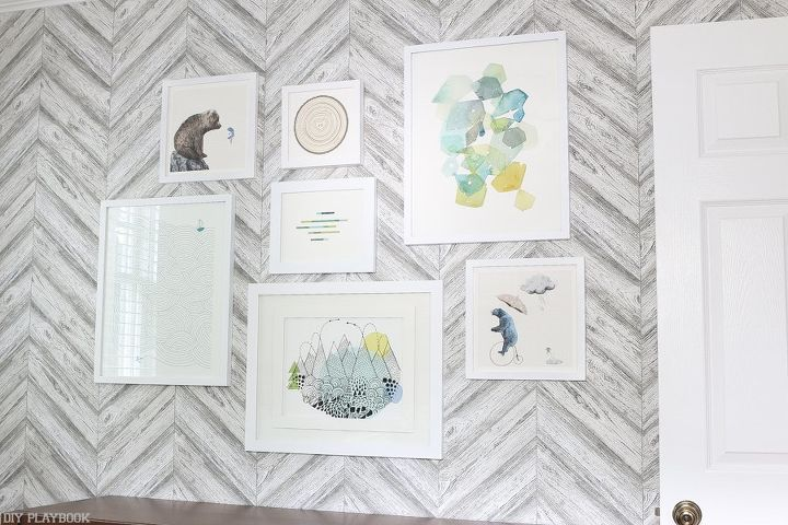 baby proof gallery wall, bedroom ideas, how to, wall decor