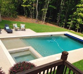 Build In A Shallow Sloped Pool Entrance