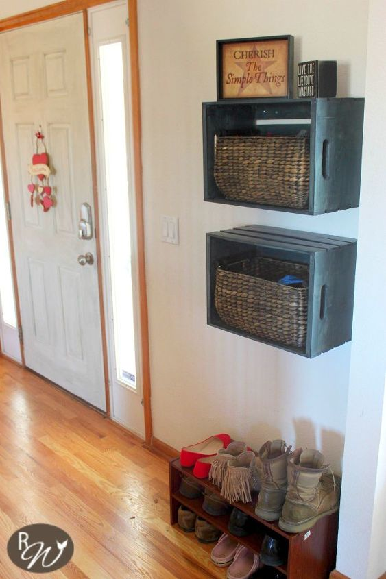 s 15 reasons we can t stop buying michaels storage crates, repurposing upcycling, storage ideas, They fit baskets so snuggly