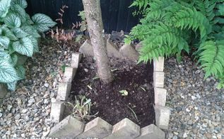 cheap attractive garden border edging, concrete masonry, diy, gardening, landscape