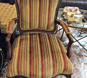5 Steps To Reupholstering A Chair, Crafts, How To, Painted Furniture,  Reupholstoring