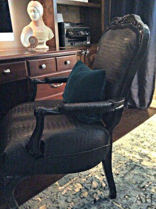 5 steps to reupholstering a chair, crafts, how to, painted furniture, reupholstoring, reupholster
