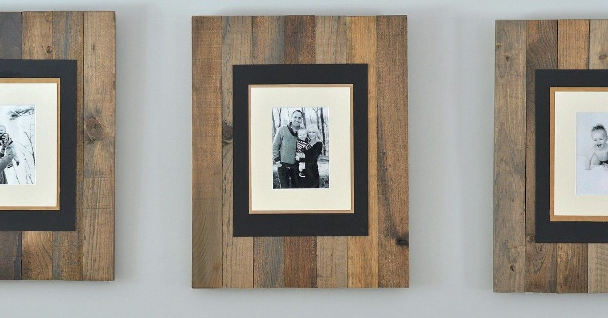 Cheap Wood To Beautiful Photo Frames Hometalk