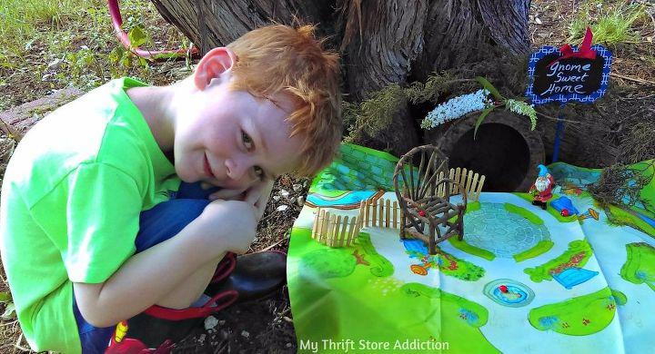 gnome sweet home diy kids craft, crafts, gardening, how to