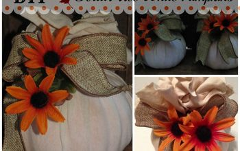 dollar tree white fall pumpkins, crafts, how to, seasonal holiday decor