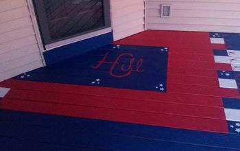 Jazzed up Front Porch!
