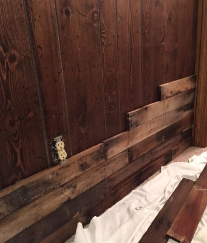 pallet wall, how to, pallet, repurposing upcycling, wall decor