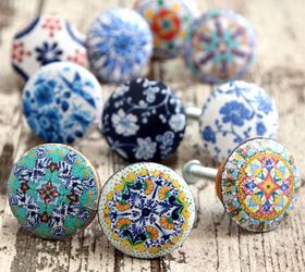 5 Minute Designer Cabinet Knobs, Crafts, Decoupage, Kitchen Cabinets,  Kitchen Design