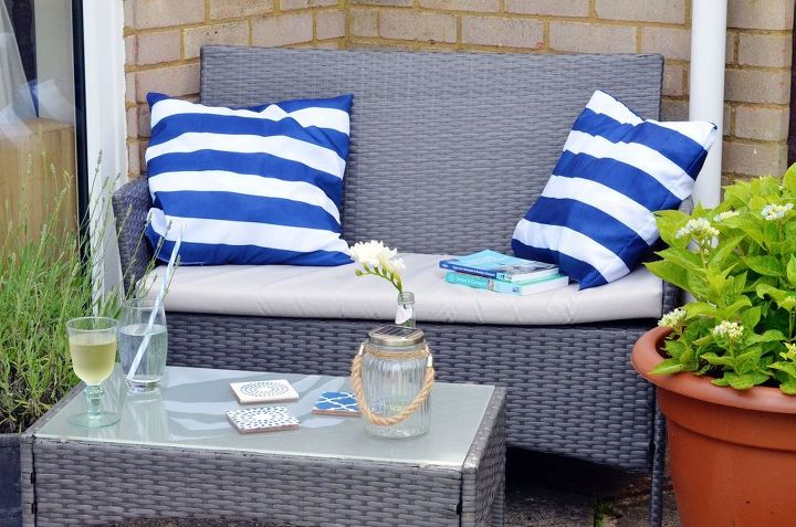 make outdoor cushions, crafts, how to, outdoor furniture, repurposing upcycling