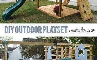 how to build your own outdoor playset, diy, how to, outdoor living, woodworking projects