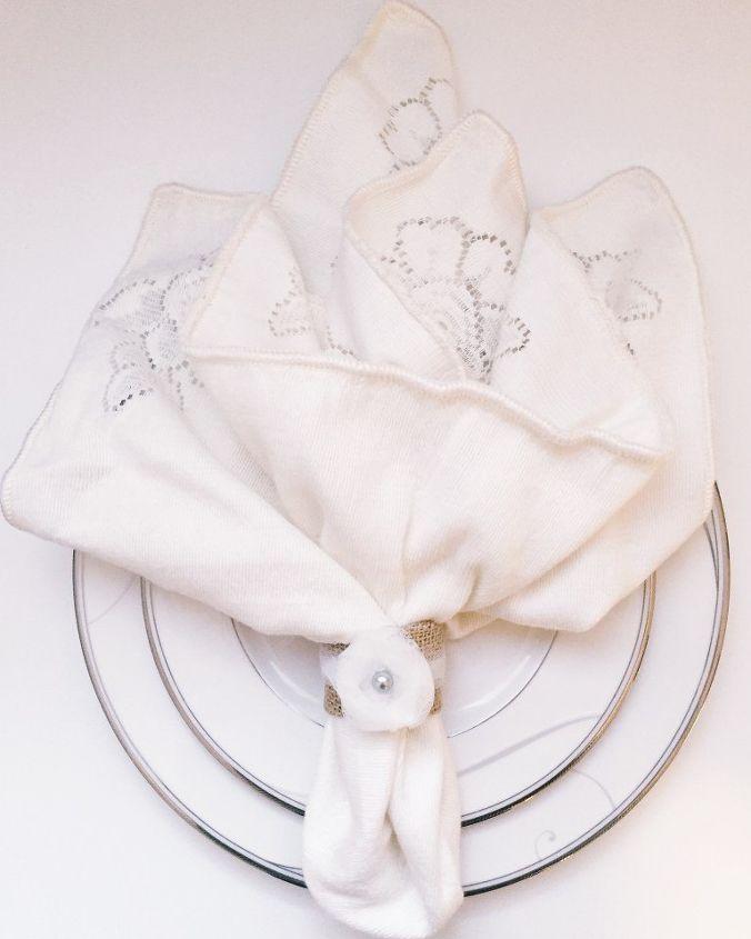 easy diy napkin rings, crafts, dining room ideas, repurposing upcycling