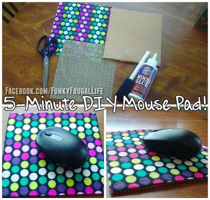 make your own mousepad hometalk. Black Bedroom Furniture Sets. Home Design Ideas