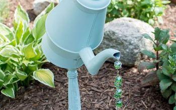 Teapot / Coffee Pot Garden Decor Tutorial