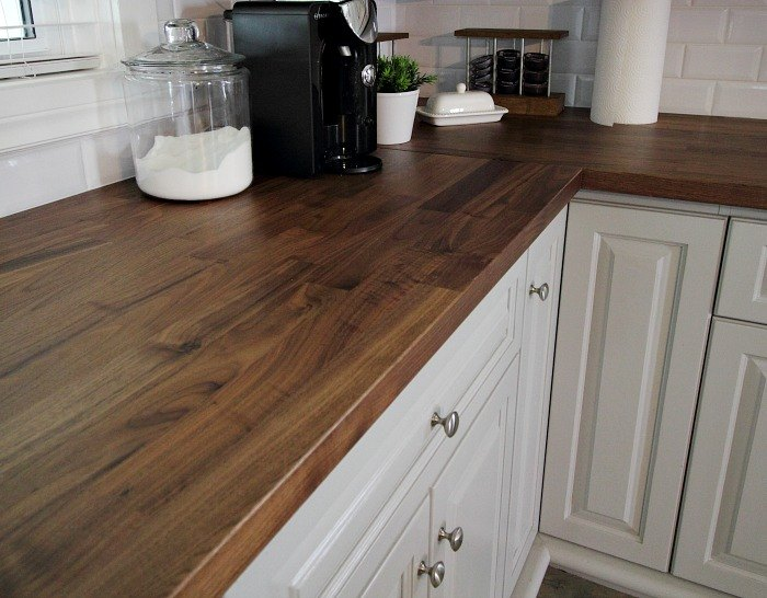 What to Know Before You Install Wooden Counter Tops in the Kitchen ...