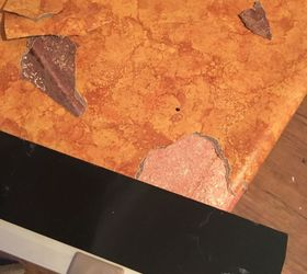 Attractive Remodeled Laminate Countertop To Look Like Stone, Chalkboard Paint,  Countertops, Home Improvement,
