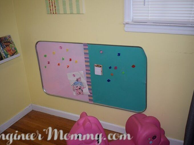 huge colorful magnetic board, crafts, entertainment rec rooms, painting