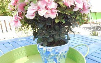Nail Polish Flowerpot