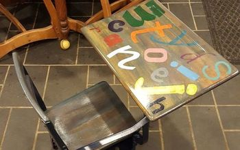 Giving a Child's Desk New Life