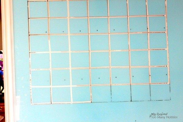 DIY Dry Erase Magnetic Calendar From Old Picture Frame | Hometalk