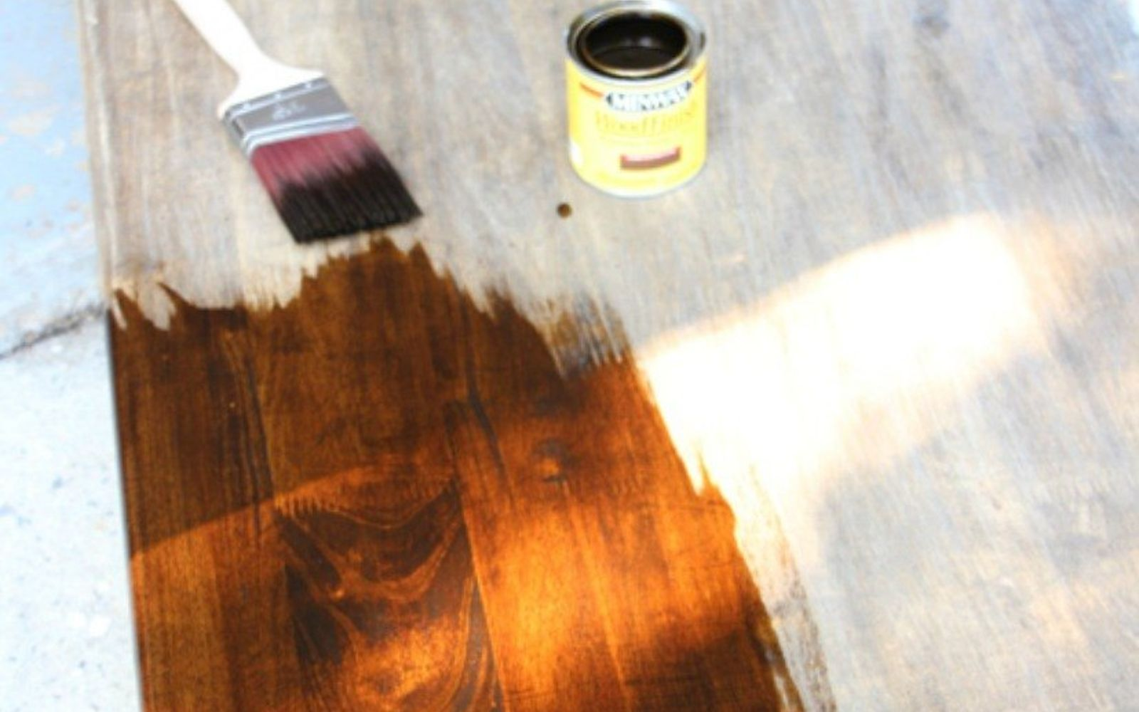 s 9 gorgeous ways to refinish old wood furniture, painted furniture, woodworking projects, Use a bright stain to bring out the grain