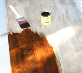 Use A Bright Stain To Bring Out The Grain