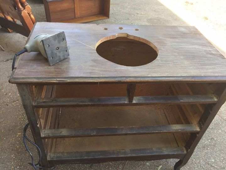 dresser makeover, bathroom ideas, painted furniture, repurposing upcycling