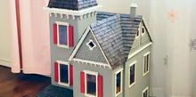 dollhouse rehab, painted furniture