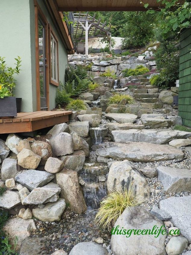 Harvested Rainwater Feature