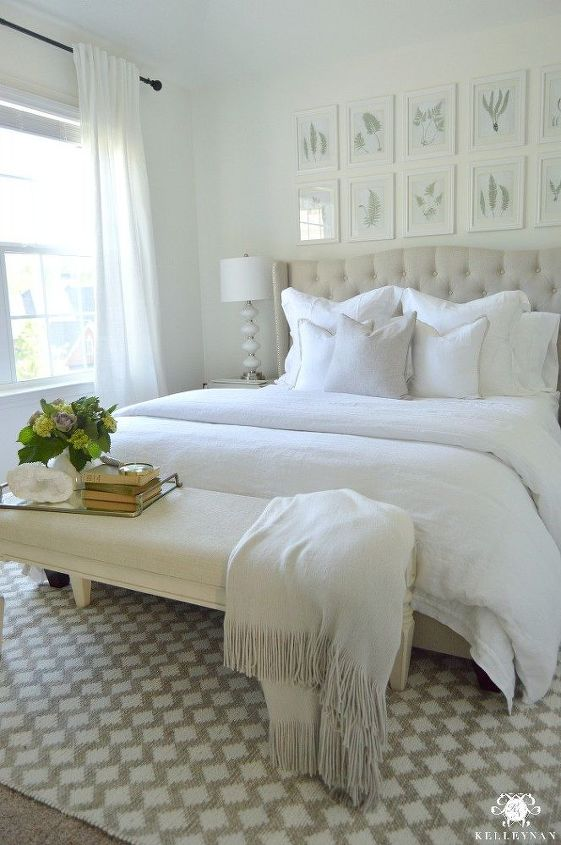 Creating An Inviting Guest Retreat With An All White