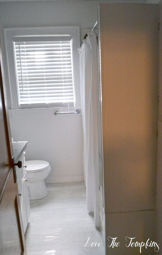 Make A Cramped Bathroom Bright Amp Beautiful Hometalk