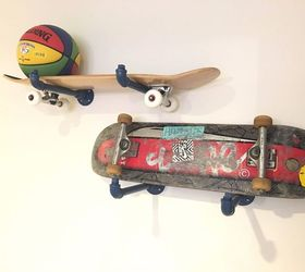 Gentil Skateboard Storage, How To, Shelving Ideas