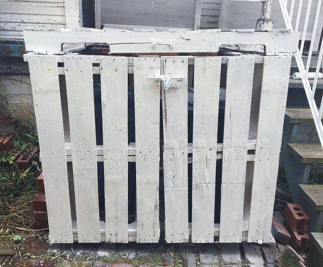 Outdoor Trash Can Storage Cabi Geous Bins Shed Garbage