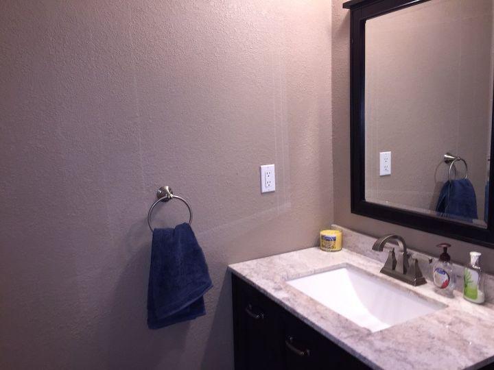 DIY Bathroom Wall Art - String Art to Add a Pop of Color! | Hometalk