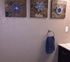 Cool bathroom wall decor