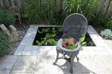 succulent seat cushion hypertufa planter, container gardening, gardening, how to, repurposing upcycling, succulents