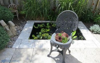 Succulent 'Seat Cushion': Hypertufa Planter