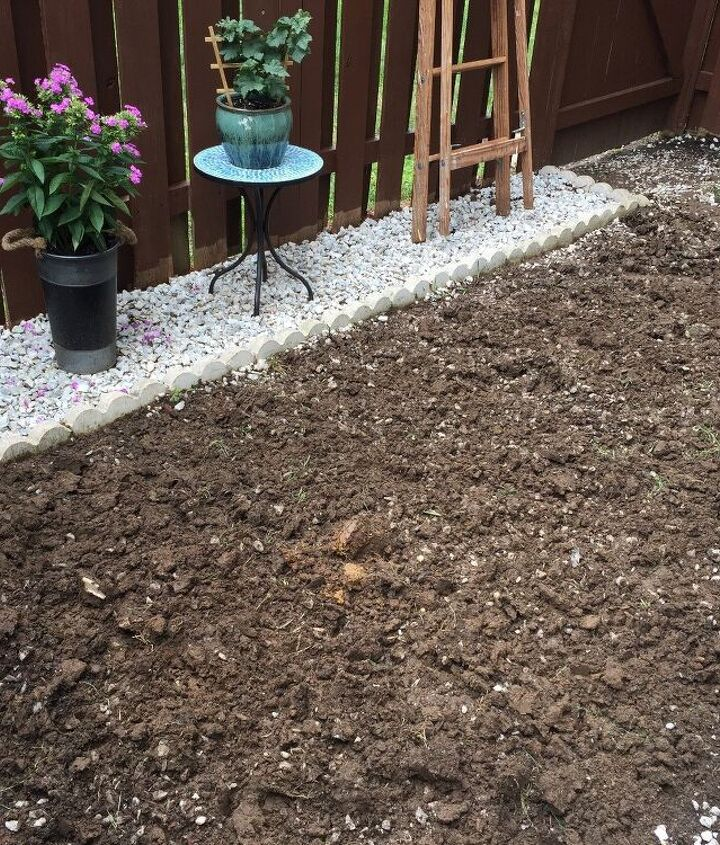 backyard makeover diy landscaping project, how to, landscape, outdoor living